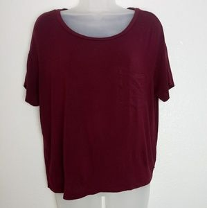 American Eagle Outfitters Tops - AEO Soft & Sexy Scoop Neck Crop